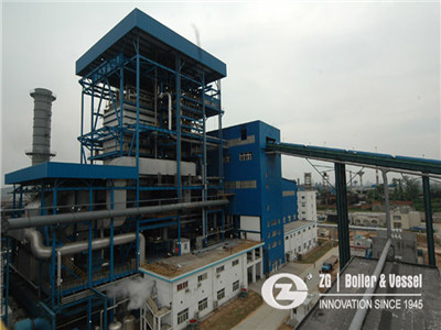 natural gas fired power plant boiler